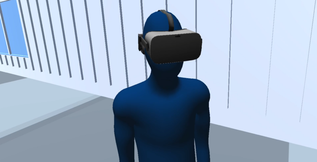 Avatar in ARES VR